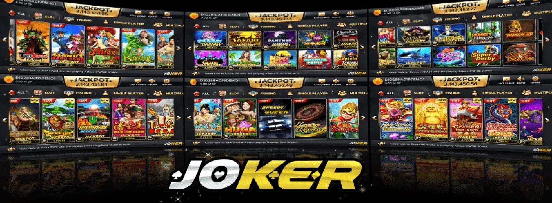 The virtual casino experience with joker123