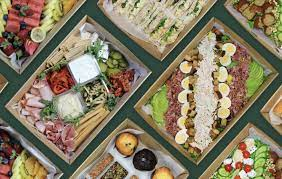 Party catering with a great variety within the menu